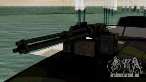 Triton Patrol Boat from Mercenaries 2 para GTA San Andreas vista traseira