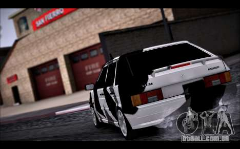 VAZ 2114 Triangle para GTA San Andreas vista interior