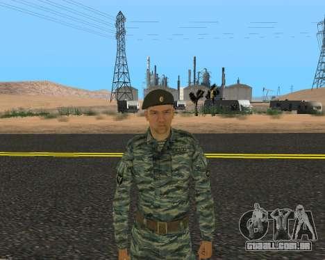 Pak Militar Russo para GTA San Andreas nono tela