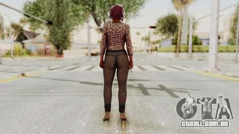 GTA 5 Hooker 2 para GTA San Andreas terceira tela