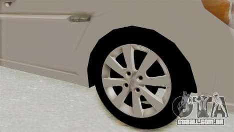 Hyundai Accent Era para GTA San Andreas vista traseira