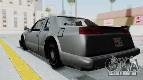 Lumia (Civil Hotring Racer) para GTA San Andreas esquerda vista