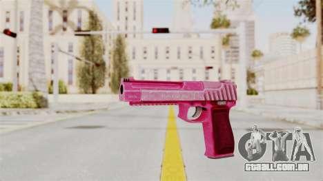 GTA 5 Pistol .50 Pink para GTA San Andreas segunda tela
