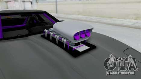Chevrolet Corvette C4 Drag para GTA San Andreas vista traseira