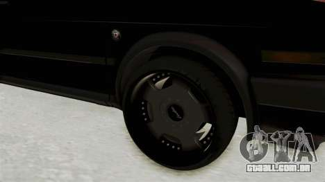 Volkswagen Jetta 2 para GTA San Andreas vista traseira