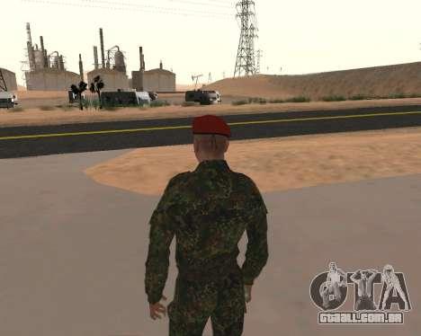 Pak Militar Russo para GTA San Andreas quinto tela