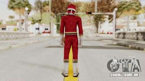 Power Rangers Lightspeed Rescue - Red para GTA San Andreas terceira tela