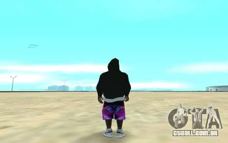 Ballas Gang Member para GTA San Andreas segunda tela
