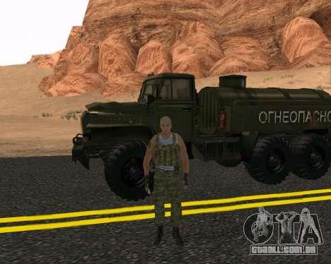 Pak Militar Russo para GTA San Andreas terceira tela