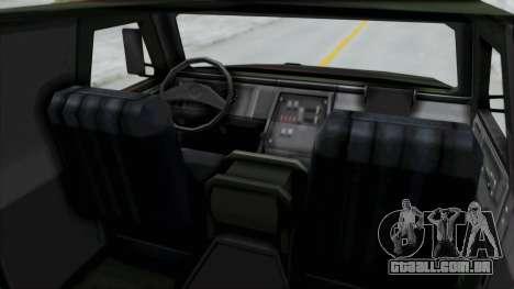 ATF Dingo para GTA San Andreas vista direita
