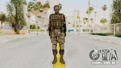 MGSV TPP Diamond Dog Combat Female para GTA San Andreas segunda tela