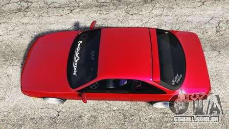 GTA 5 Nissan Silvia S14 Zenki Stance voltar vista