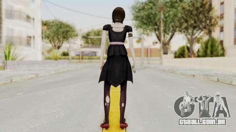Fatal Frame 4 - Madoka Goth para GTA San Andreas terceira tela
