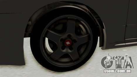 Nissan Skyline R32 4 Door para GTA San Andreas vista traseira