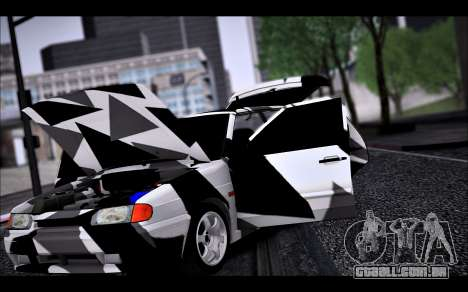 VAZ 2114 Triangle para GTA San Andreas vista superior