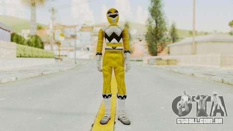Power Rangers Lost Galaxy - Yellow para GTA San Andreas segunda tela