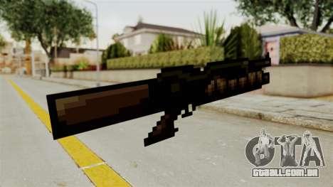 Heavy Machinegun from Metal Slug para GTA San Andreas segunda tela