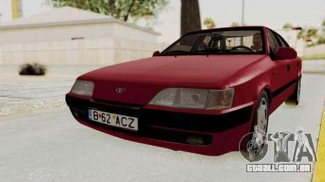 Daewoo Espero 1.5 GLX 1996 v2 Final para GTA San Andreas traseira esquerda vista