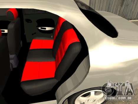 Daewoo Lanos (Sens) 2004 v2.0 by Greedy para GTA San Andreas vista superior