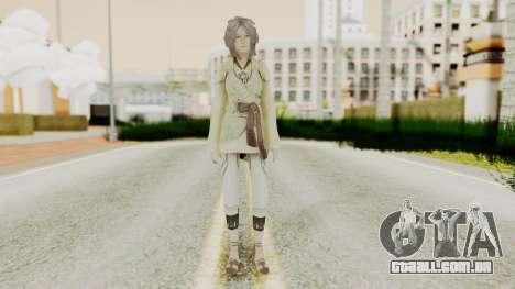 Nora - Final Fantasy XIII para GTA San Andreas segunda tela