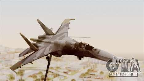 SU-27 Hydra para GTA San Andreas traseira esquerda vista