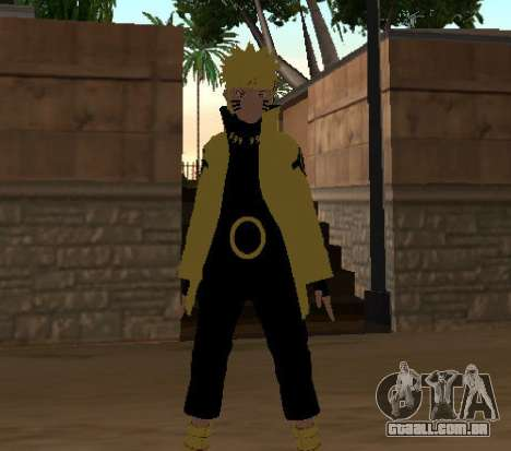 Naruto Ashura para GTA San Andreas terceira tela
