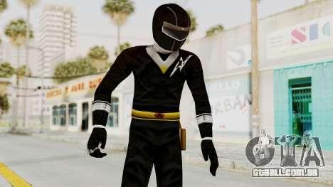 Alien Rangers - Black para GTA San Andreas