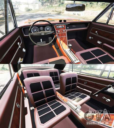 GTA 5 Buick Riviera 1963 traseira direita vista lateral