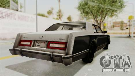GTA 5 Dundreary Virgo IVF para GTA San Andreas esquerda vista