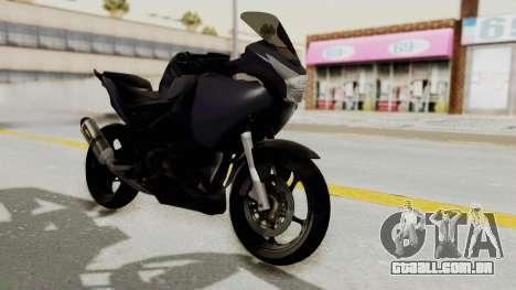 Honda CBR150i para GTA San Andreas