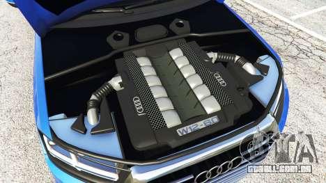 GTA 5 Audi Q7 2015 [rims2] frente vista lateral direita