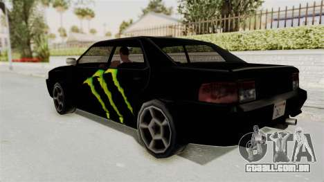 Monster Sultan para GTA San Andreas esquerda vista