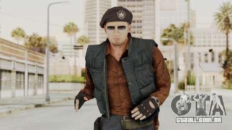 MGSV Phantom Pain Rogue Coyote Commander para GTA San Andreas