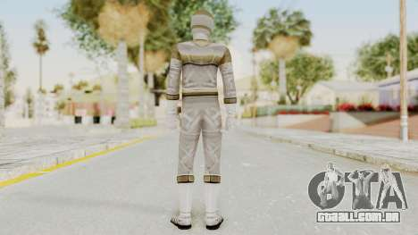 Power Rangers In Space - Silver para GTA San Andreas terceira tela