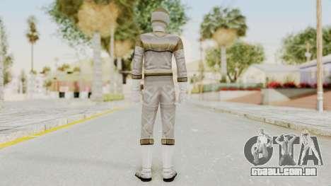 Power Rangers In Space - Silver para GTA San Andreas terceira tela