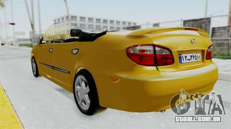 Nissan Maxima Spyder para GTA San Andreas vista direita