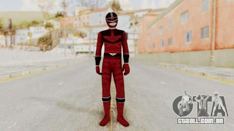 Power Rangers Time Force - Quantium para GTA San Andreas segunda tela