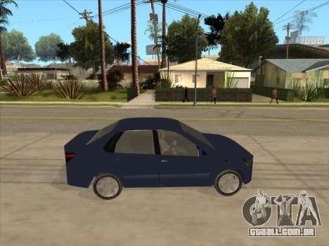 Datsun on-DO para GTA San Andreas vista direita