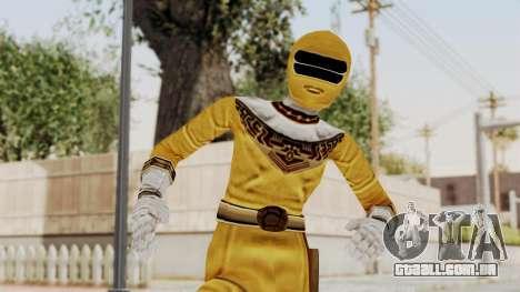 Power Ranger Zeo - Yellow para GTA San Andreas