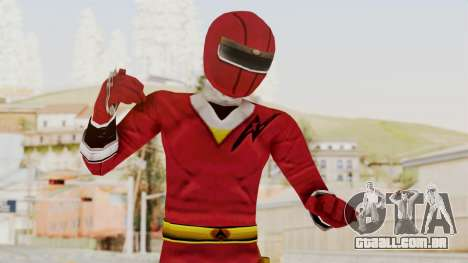 Alien Rangers - Red para GTA San Andreas