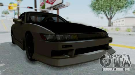 Nissan Sileighty TOD para GTA San Andreas vista direita