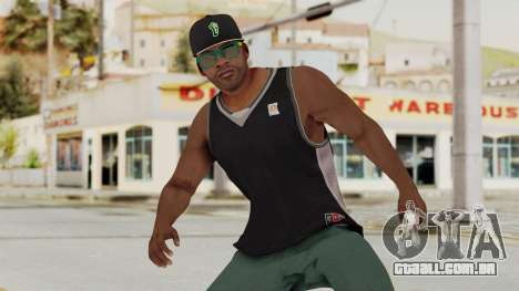 GTA 5 Franklin v3 para GTA San Andreas