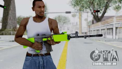 IOFB INSAS Light Green para GTA San Andreas terceira tela
