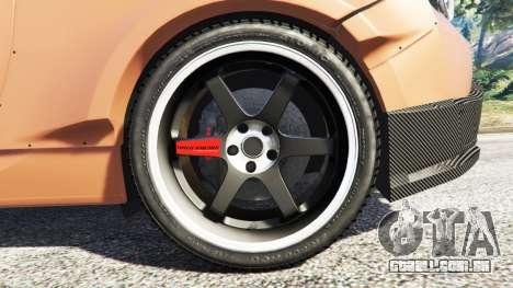 Subaru BRZ Rocket Bunny para GTA 5