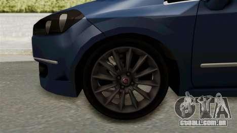 Fiat Linea 2011 para GTA San Andreas vista traseira