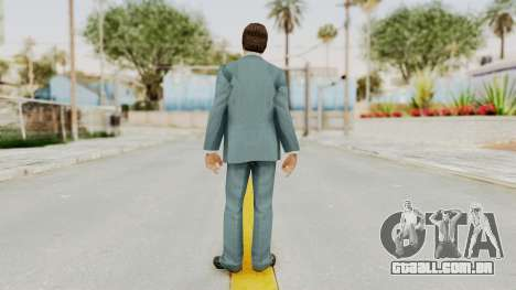 Scarface Tony Montana Suit v3 with Glasses para GTA San Andreas terceira tela
