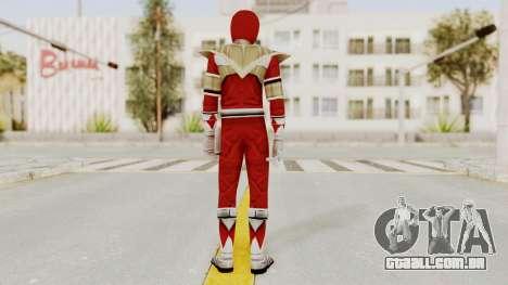 Mighty Morphin Power Rangers - Red Armor para GTA San Andreas terceira tela