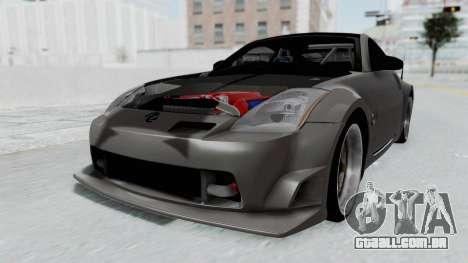 Nissan 350Z V6 Power para GTA San Andreas vista direita