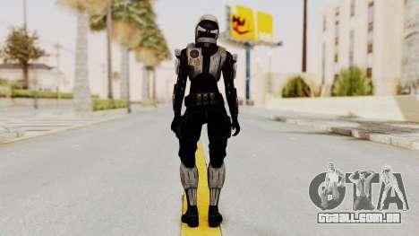 Mass Effect 3 Ajax Female Armor para GTA San Andreas terceira tela
