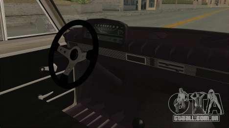 Seat 1430 FU para GTA San Andreas vista interior